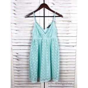 [Express] Lace Babydoll Dress